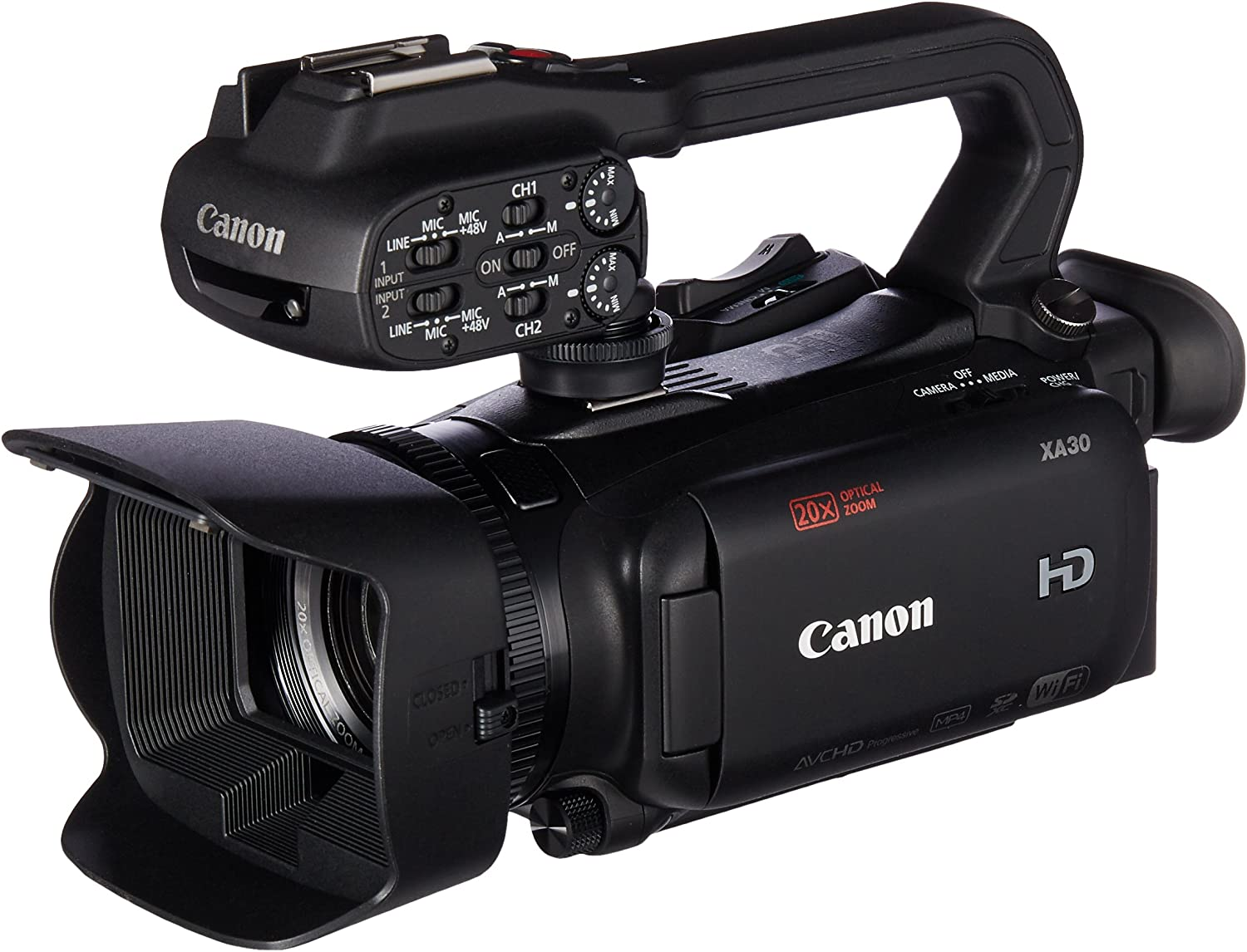Canon XA30: - Best budget friendly camcorder for movie making
