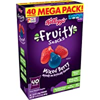 Deals on 40PK Fruity Snacks Mixed Berry, Gluten Free, Fat Free 0.8oz