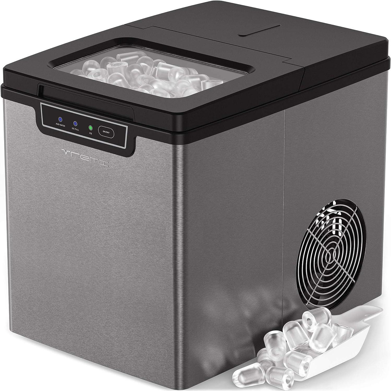 Vremi 26Lbs Countertop Portable Ice Maker