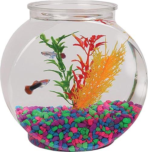 Koller-Products-1-Gallon-Plastic-Fish-Bowl