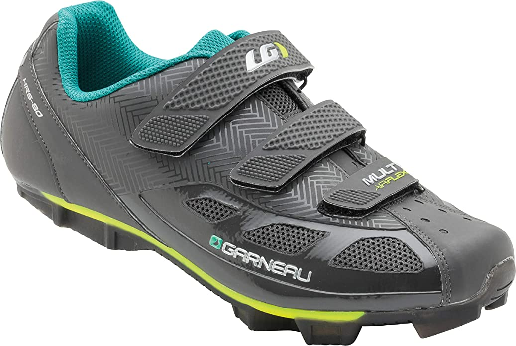 Louis Garneau Women's Multi Air Flex II Bike Shoes for Indoor Cycling, Commuting and MTB, SPD Cleats Compatible with MTB Pedals