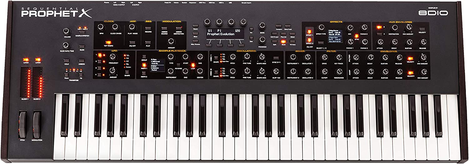 Sequential Prophet X 61-Key Synthesizer
