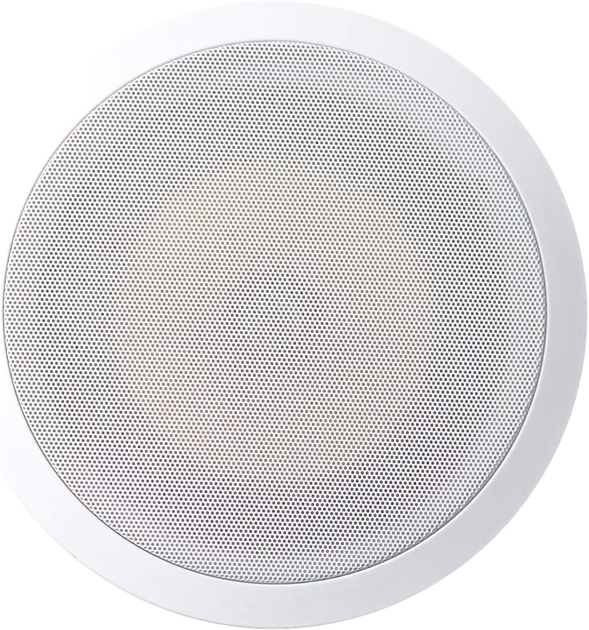 Acoustic Audio HD-8Pr 8-Inch Round 2 Way Kevlar Speakers