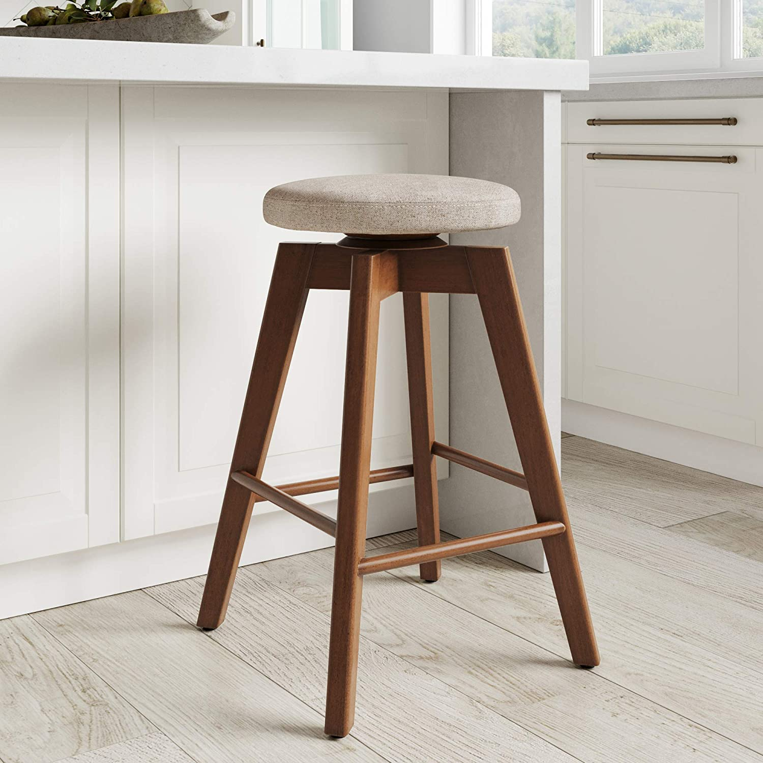 Backless Kitchen Counter Height Bar Stool