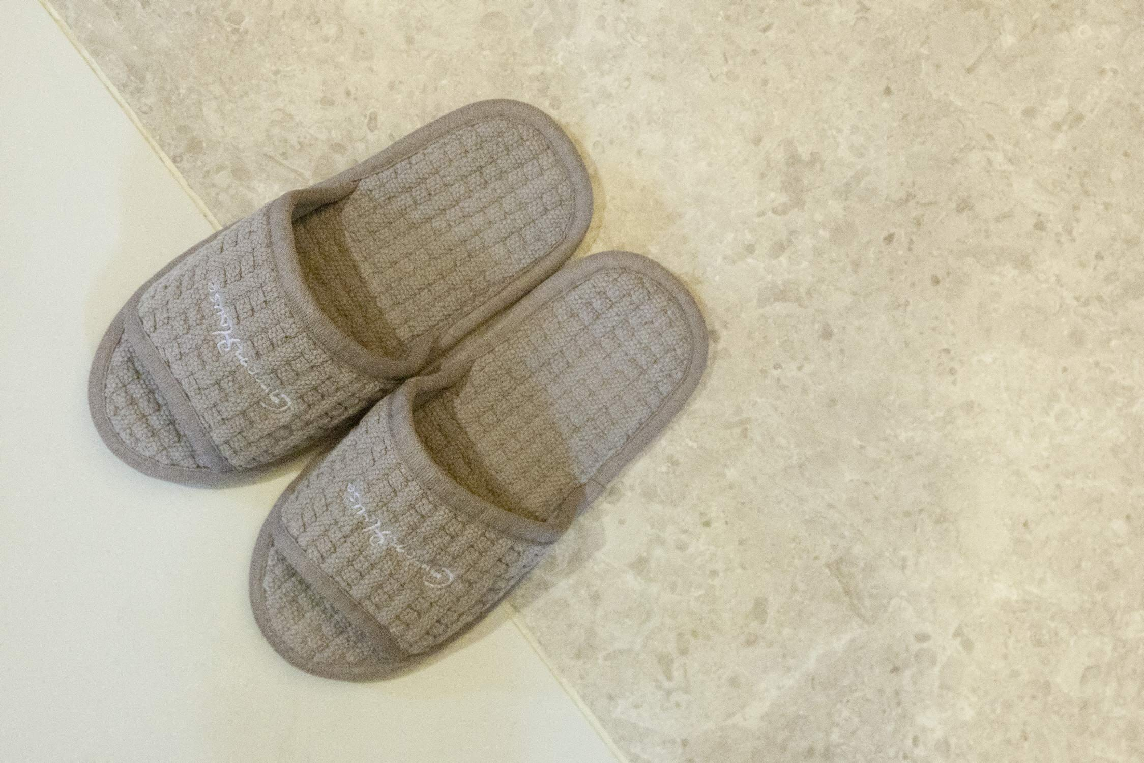 Rokgi | House Slippers for Women | Cotton House Shoes | Ladies Bedroom Cozy Washable Indoor Slippers