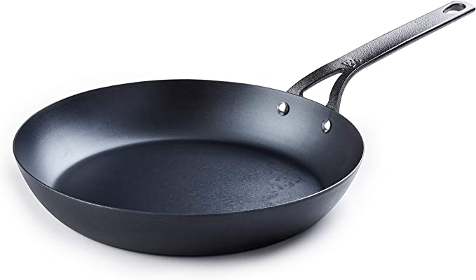 Carbon steel pan 12 inch.