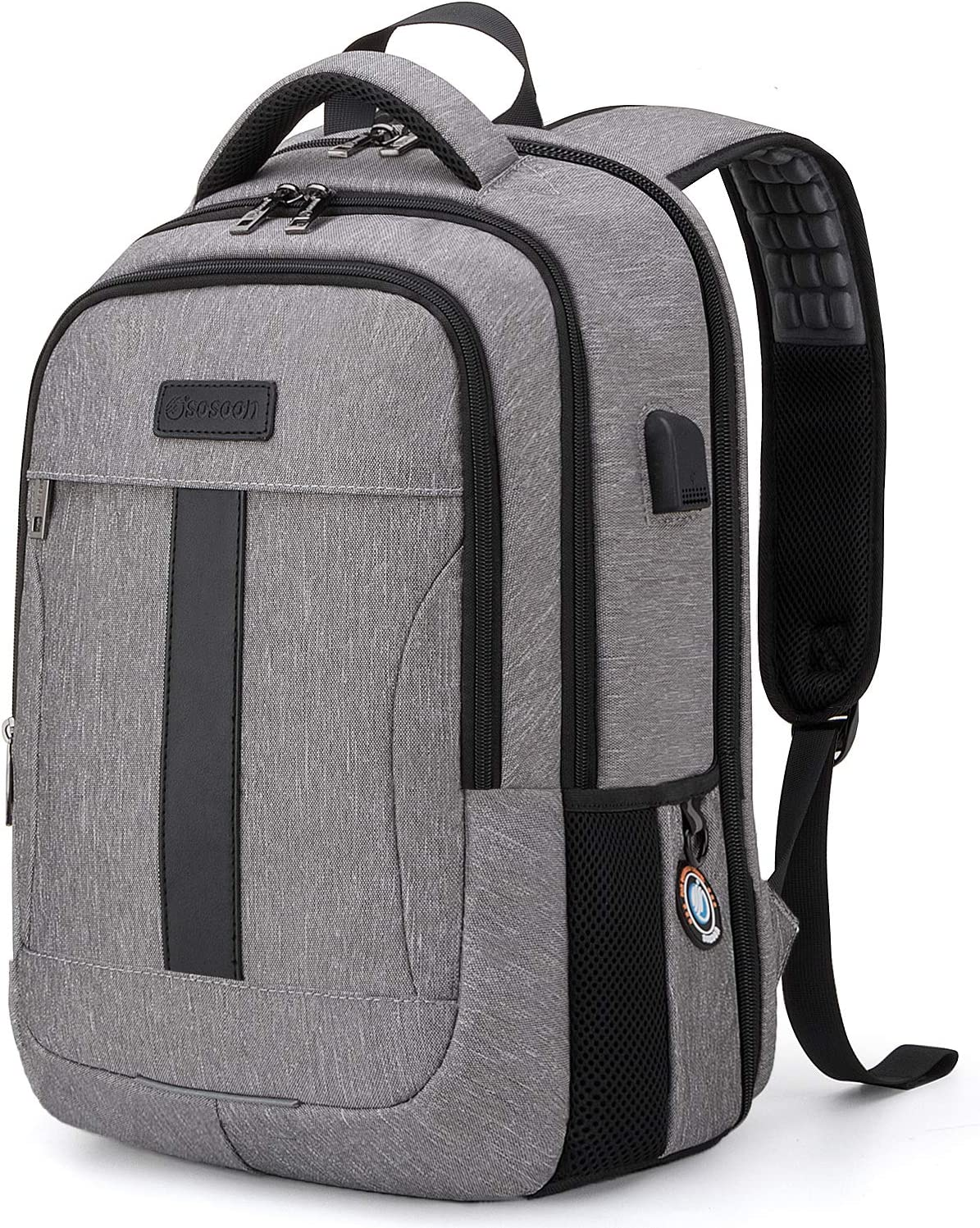 Sosoon Bussiness Laptop Backpack (15.6-17 Inch)