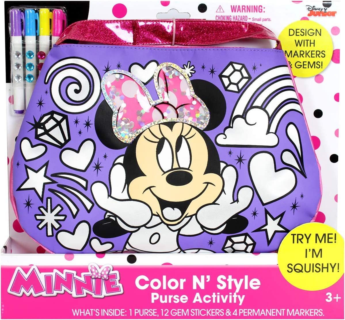 Tara Toys Minnie Mouse Color N Style Fashion Purse