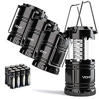 Deals on Vont 4 Pack LED Camping Lantern LED Lantern