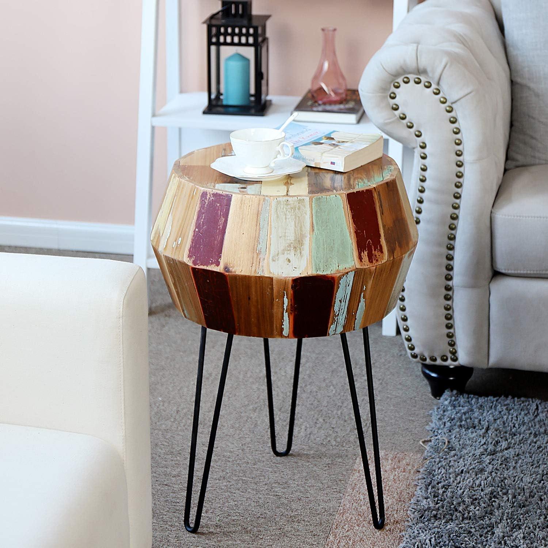 Welland Side Table Reclaimed Wood