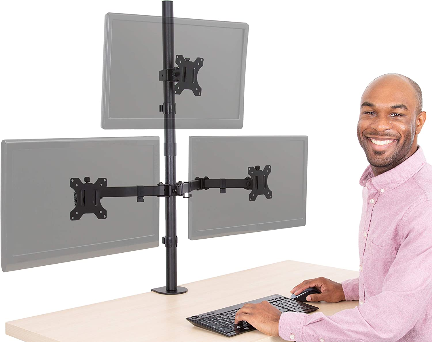 Triple Monitor Stand