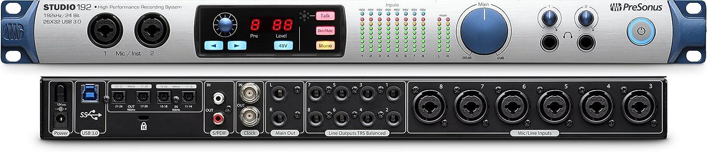 Presonus Studio 192 26X32 Usb 3.0 Audio Interface And Studio Command Center
