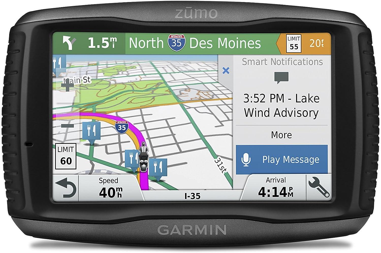 TomTom Zumo 595LM Navigationsgerät für Motorräder