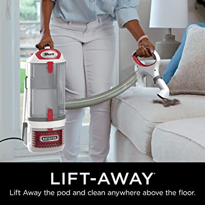 Shark Rotator Professional Upright Corded Bagless Vacuum for Carpet and Hard Floor with Lift-Away Hand Vacuum and Anti-Allergy Seal (NV501)