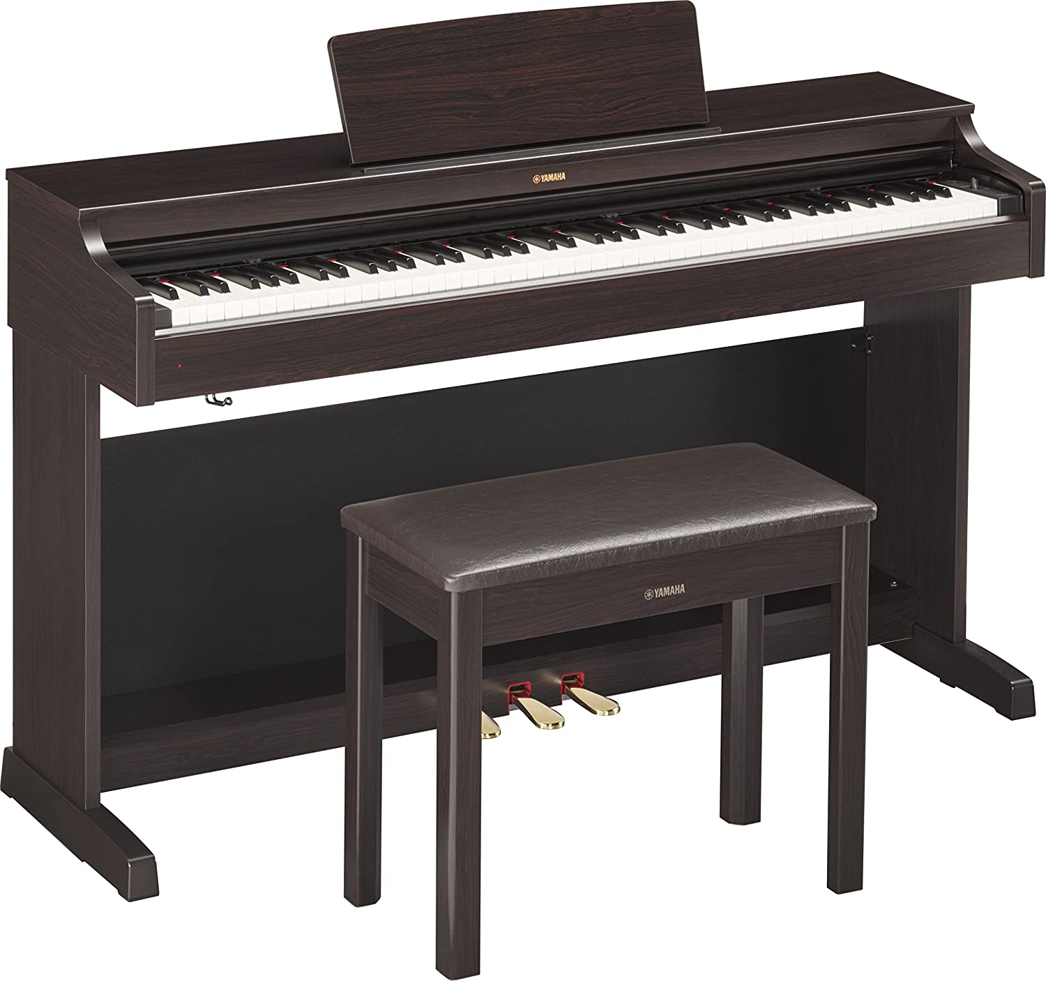 Yamaha YDP 163R Arius Series Console Digital Piano with Bench