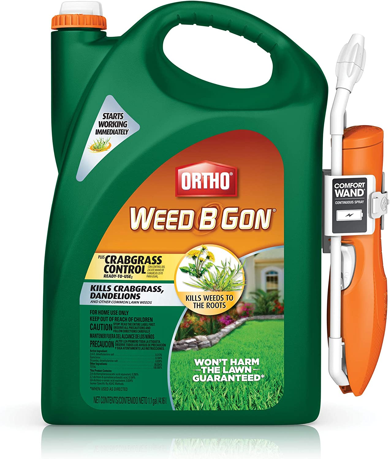 Ortho Weed B Gone Plus Crabgrass Control