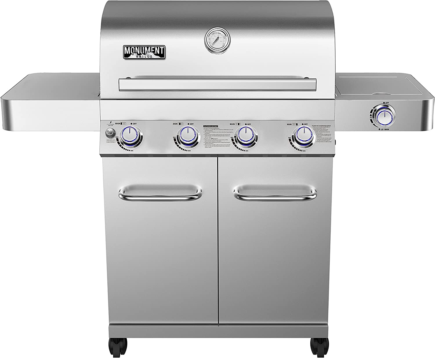 Monument Grills 4-Burner Propane Gas Grill Review