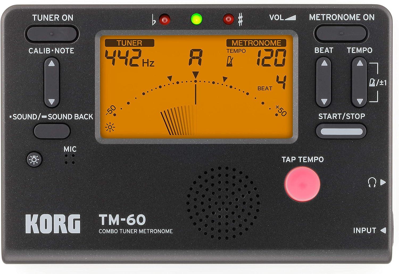 Korg Tm60Bk Tuner Metronome