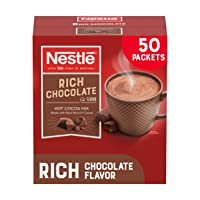 Deals on 50-CT Nestle Hot Chocolate Packets Hot Cocoa Mix Rich Chocolate 0.71oz