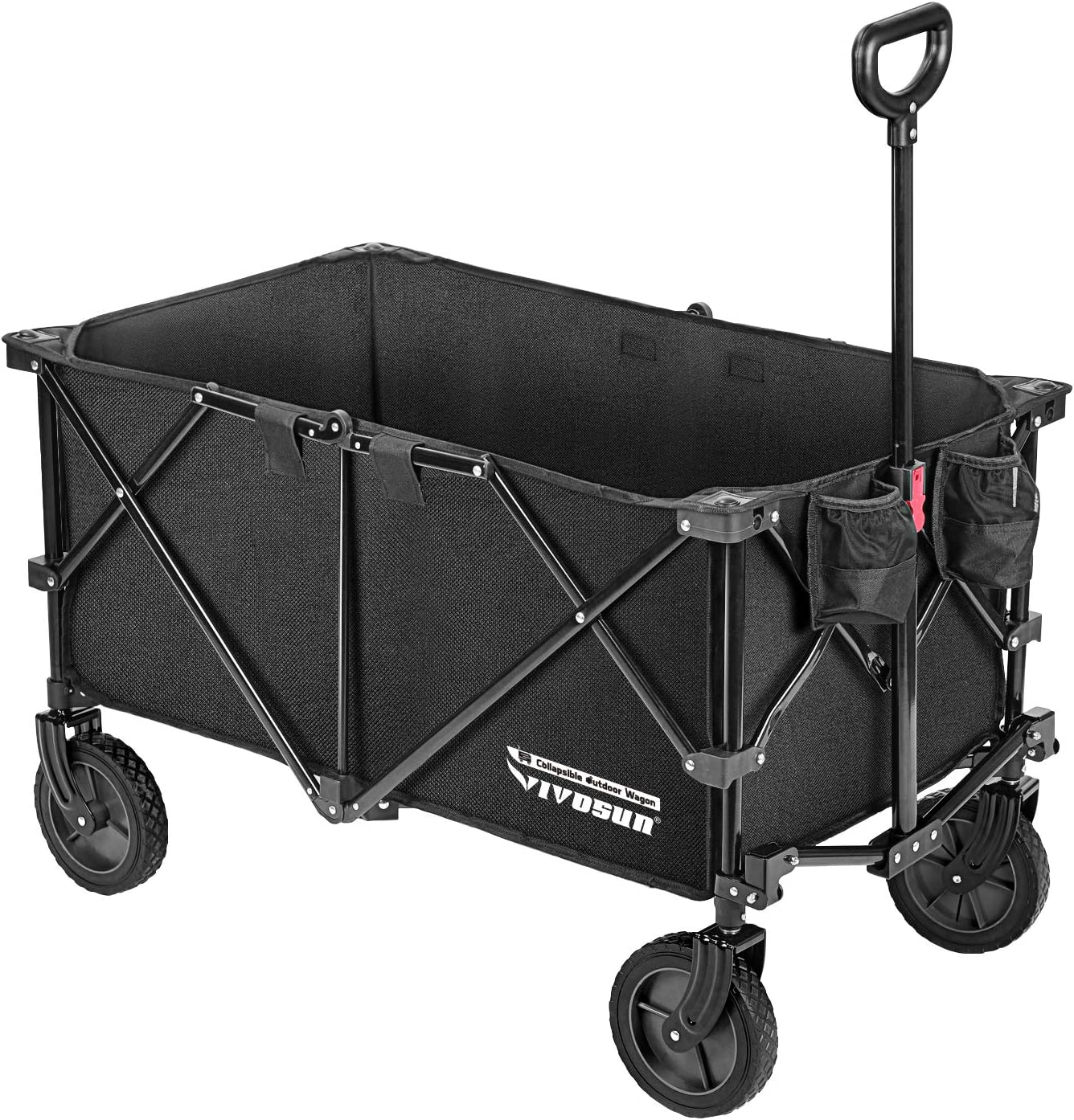Vivosun Heavy Duty Collapsible Folding Wagon
