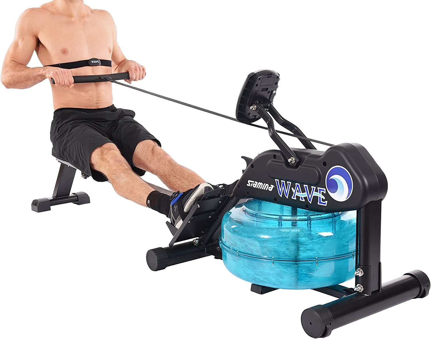 Stamina 'New and Improved' Elite Wave Water Rower 1450