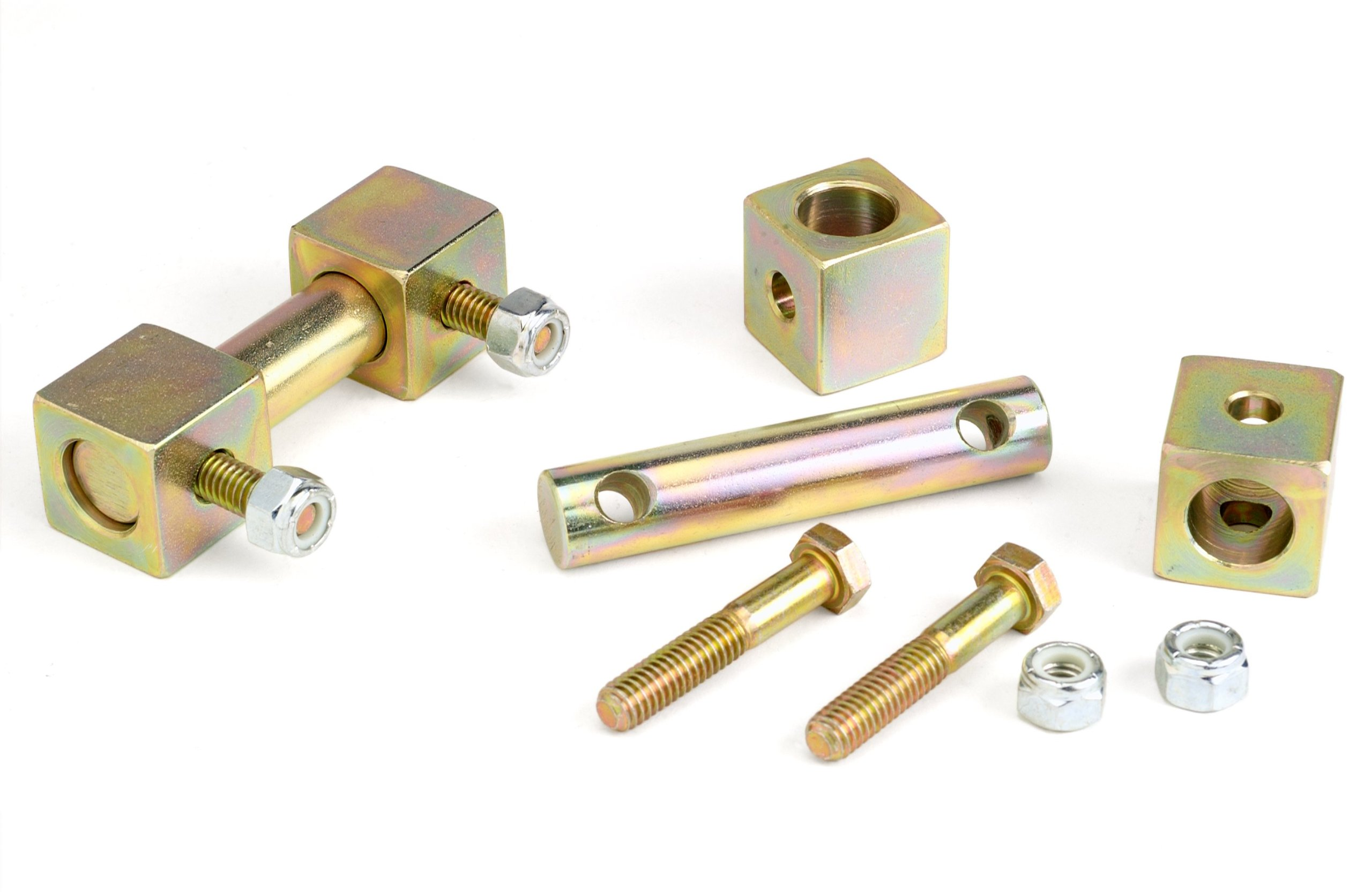 TeraFlex 1203700 J//XJ//ZJ Front Lower Shock Bar Pin Eliminator Kit