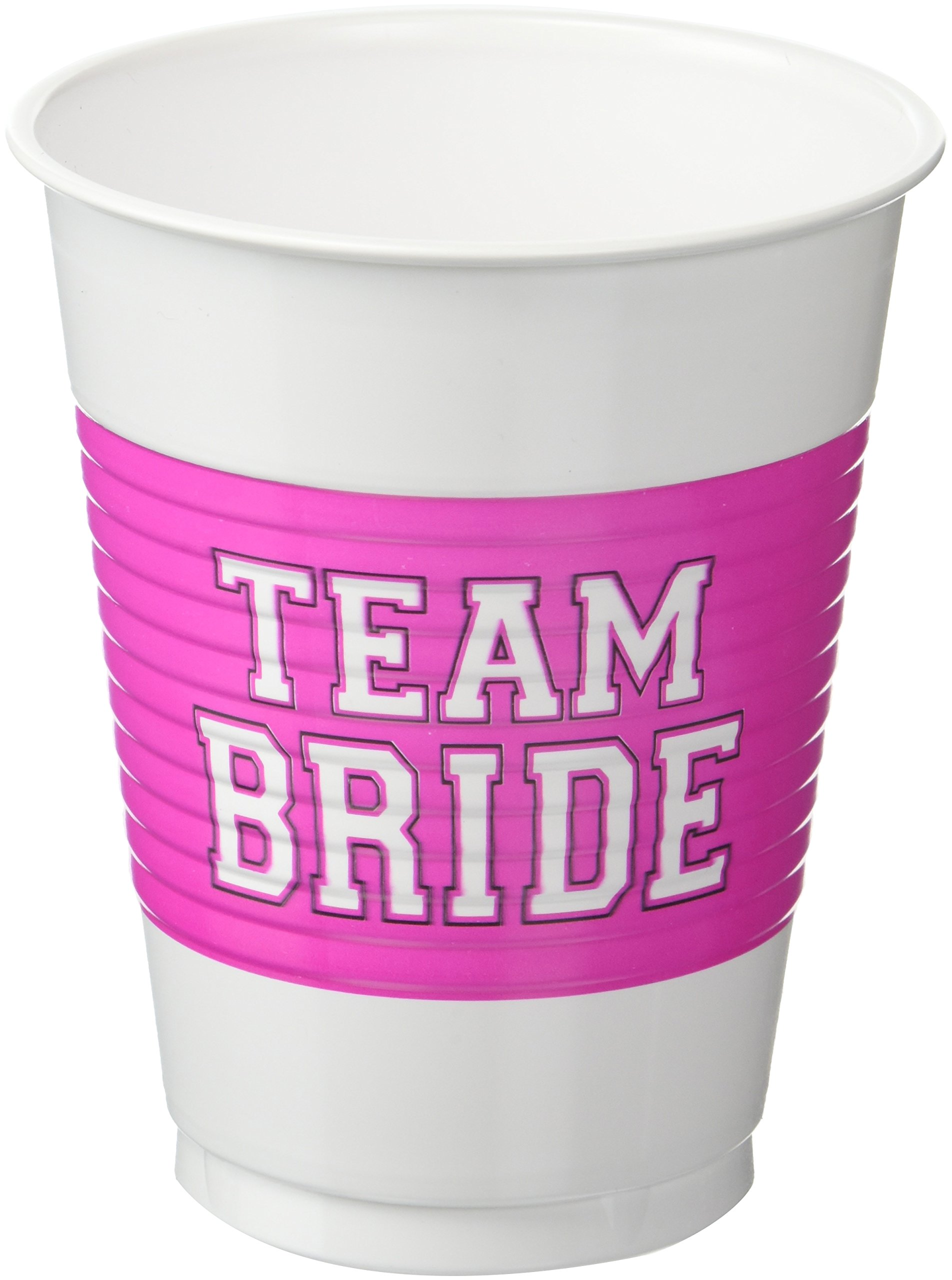 She Said Yes Pink and Gold Cups for Weddings and Bridal Showers Bachelorette Party Cups Mega Party Pack ofTeam Bride 25 Bridal Shower Decorations