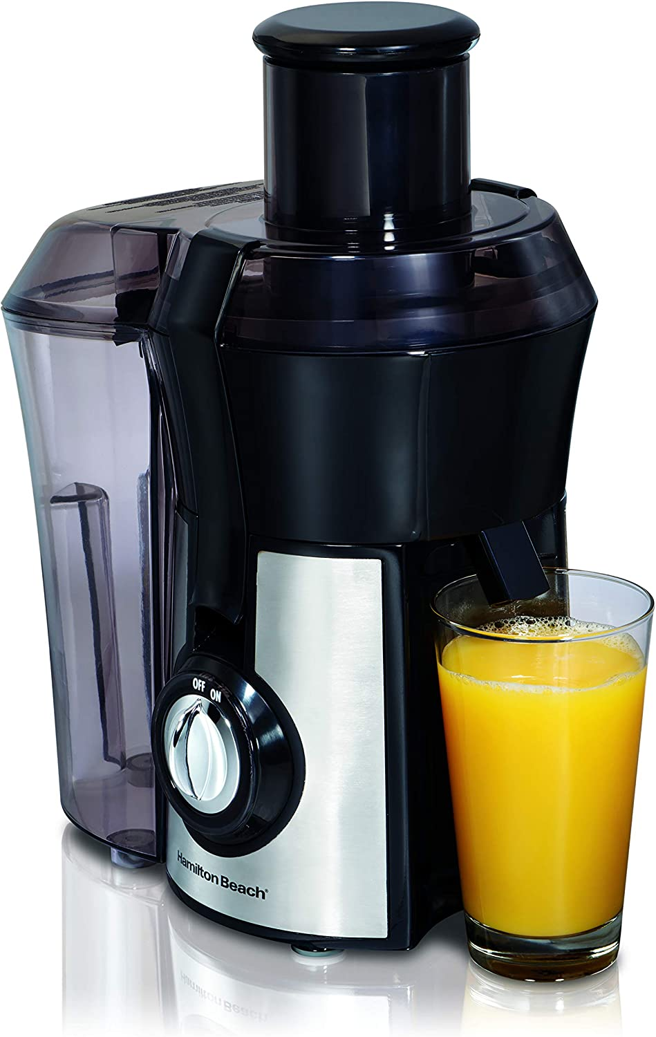 "Hamilton Beach Pro Juicer Machine, Big Mouth Large 3"" Feedchute"