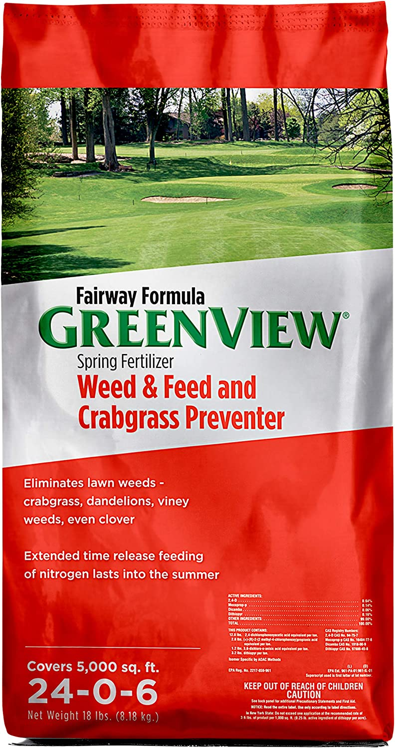 Greenview Weed & Feed and Crabgrass Preventer