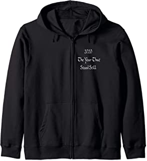 The Year the Earth Stood Still Zip Hoodie