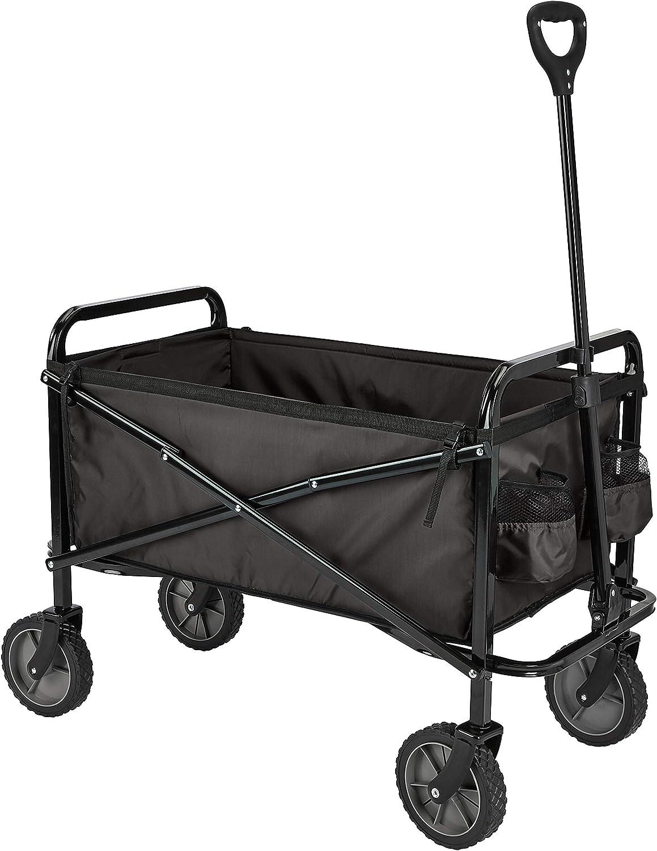 AmazonBasics Collapsible Folding Outdoor Garden Utility Wagon