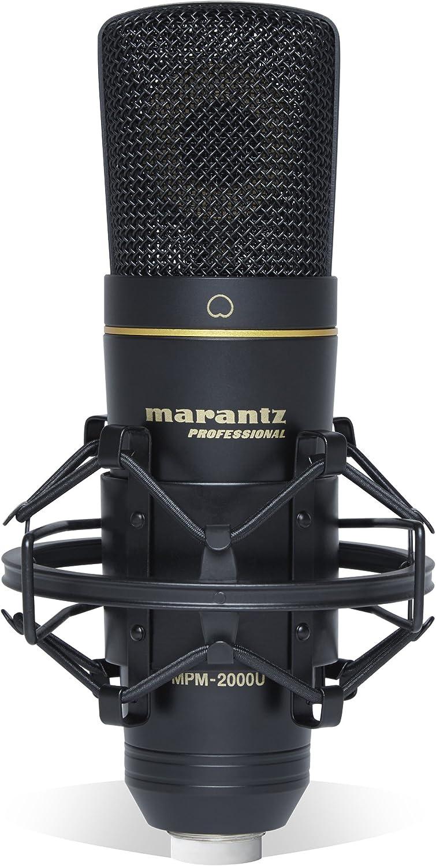 Marantz Professional Mpm-2000U | Large Diaphragm Studio Quality Usb Condenser Microphone