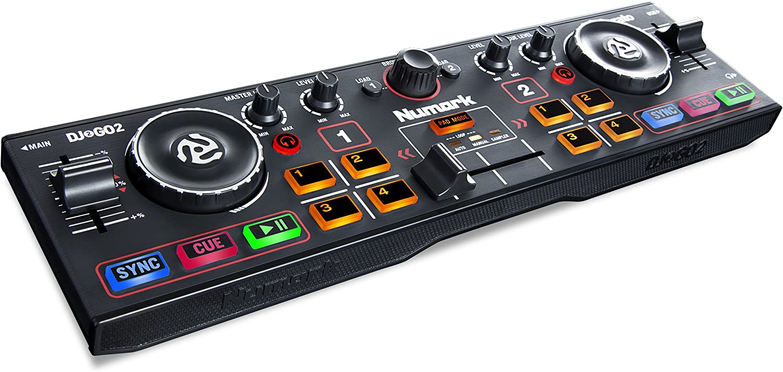 Numark DJ2GO2 | Ultra Portable Two Channel DJ Controller