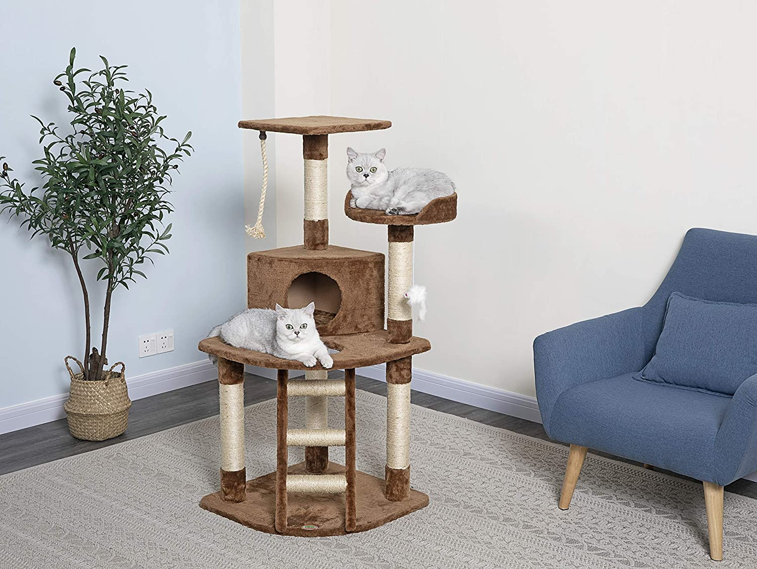 Go Pet Club Cat Condo House