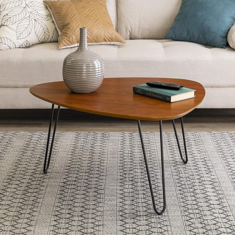 WE Furniture Modern Hairpin Coffee Table