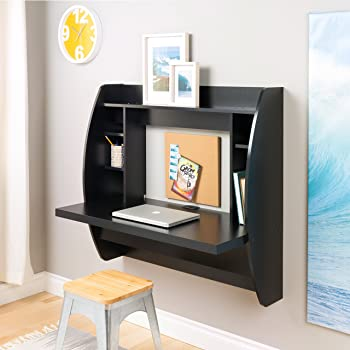 Prepac Wall-Mounted Home Office Desk