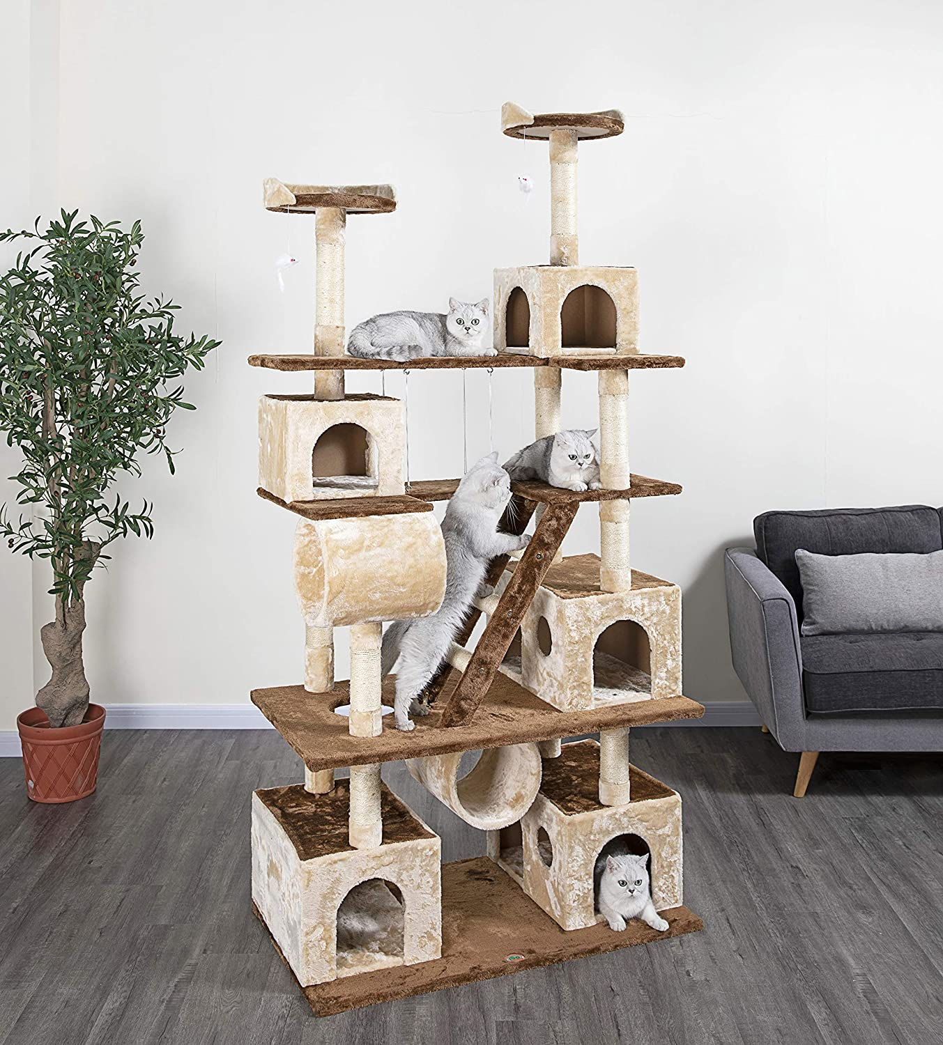 Go Pet Club Climber Cat Tree