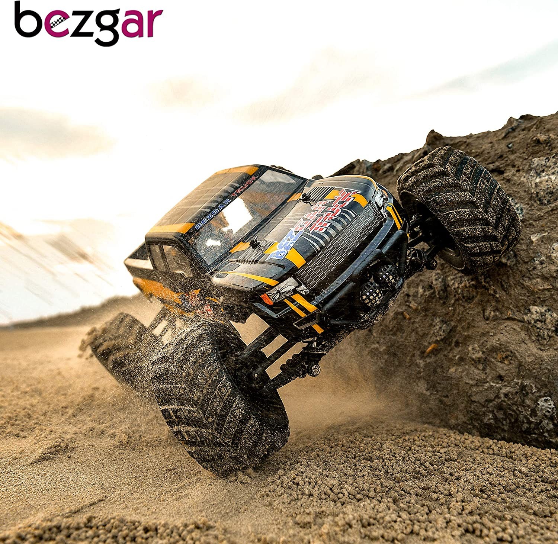 BEZGAR 4x4 Waterproof Remote Control Fast Racing Hobby Truck