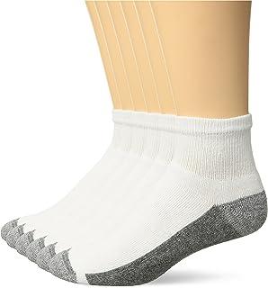 Men's ComfortBlend Max Cushion Ankle Socks, 6 Pack