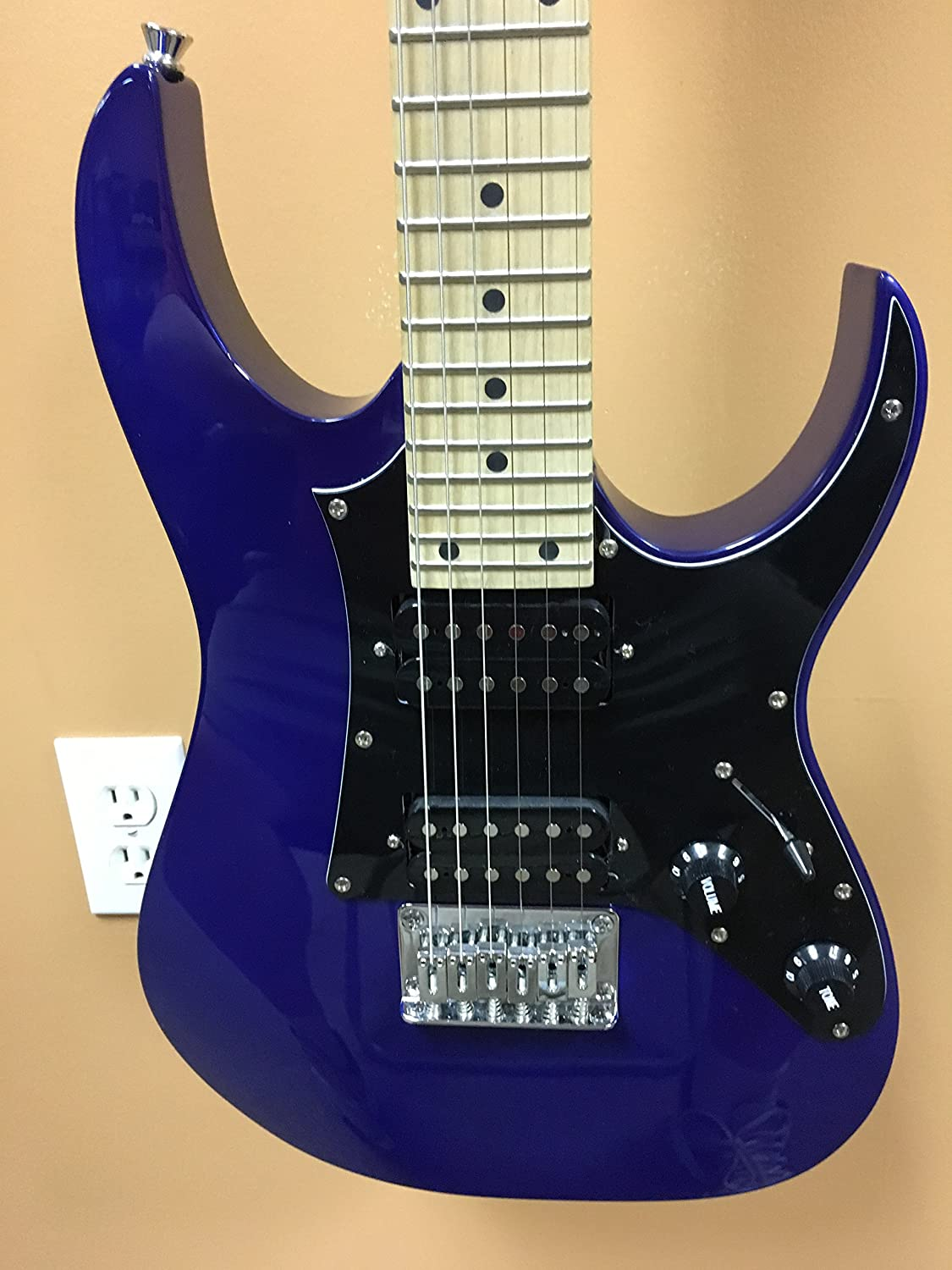 Ibanez 6 String Solid-Body Electric Guitar, Right, Jewel Blue