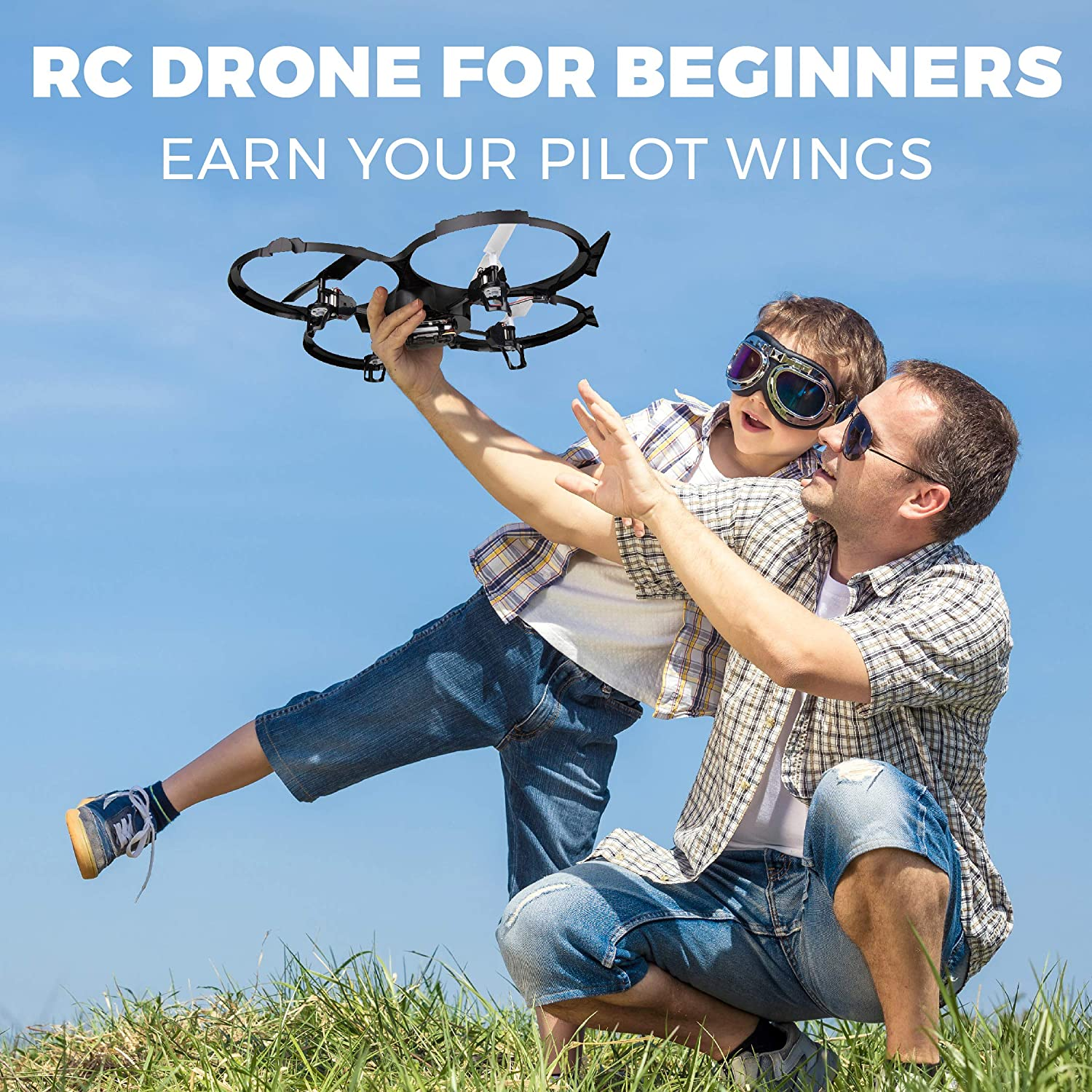 UDI U818A Discovery RC Drone is the best quadcopter for beginners with camera.