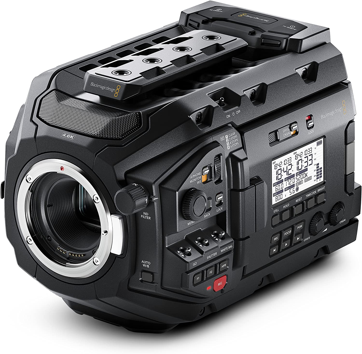 Blackmagic URSA Mini Pro: Premium Camera for Movie and Film Shooting