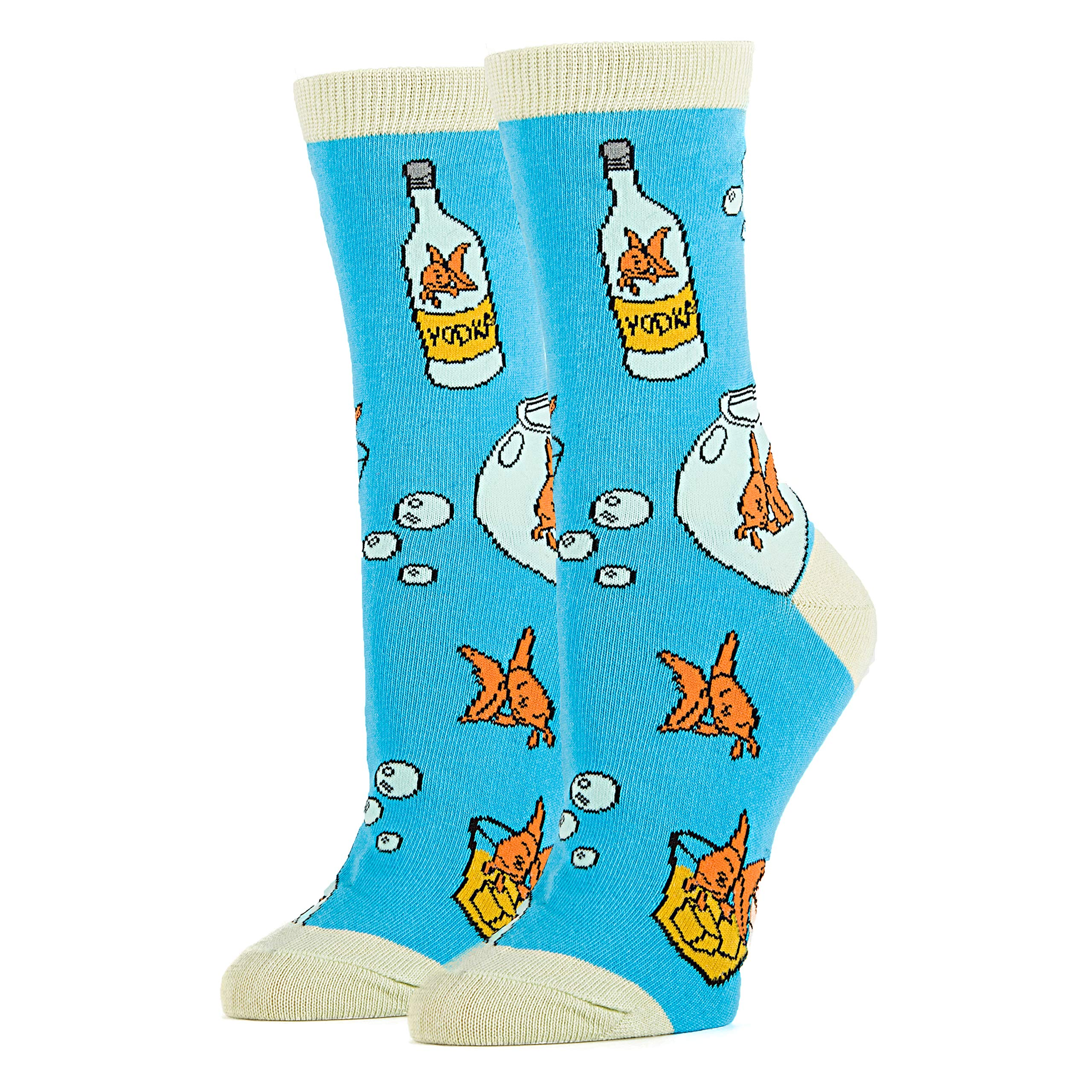 Casual Dress Socks Cool Fashion Socks Funny Crazy Silly Socks Womens Novelty Crew Socks