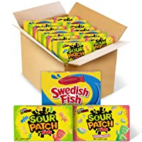Deals on SOUR PATCH KIDS Original Candy 15 Movie Theater Candy Boxes