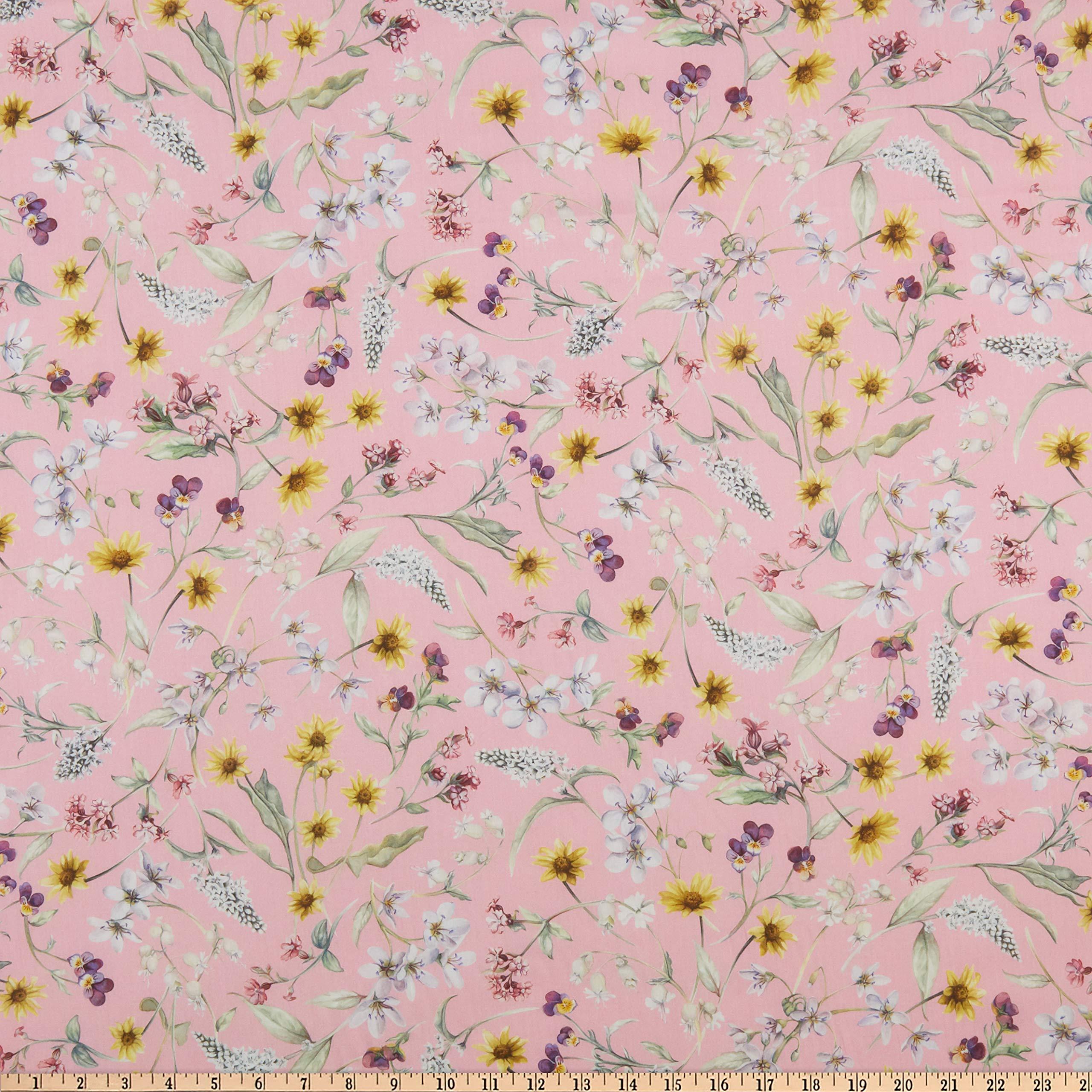 Liberty Fabrics Tana Lawn Primavera Pink/Multi