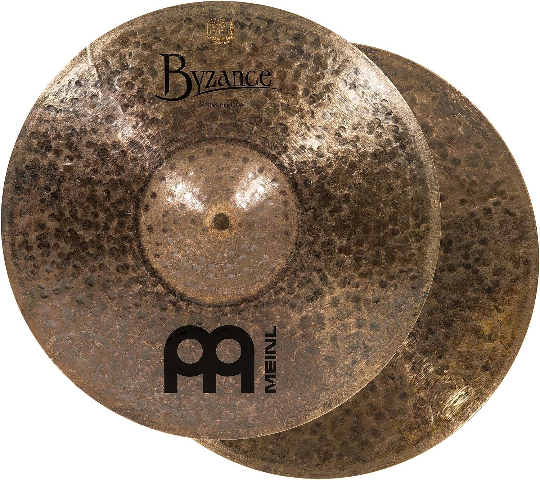 Meinl Cymbals B14Dah Byzance 14-Inch Dark Hi-Hat Cymbal Pair