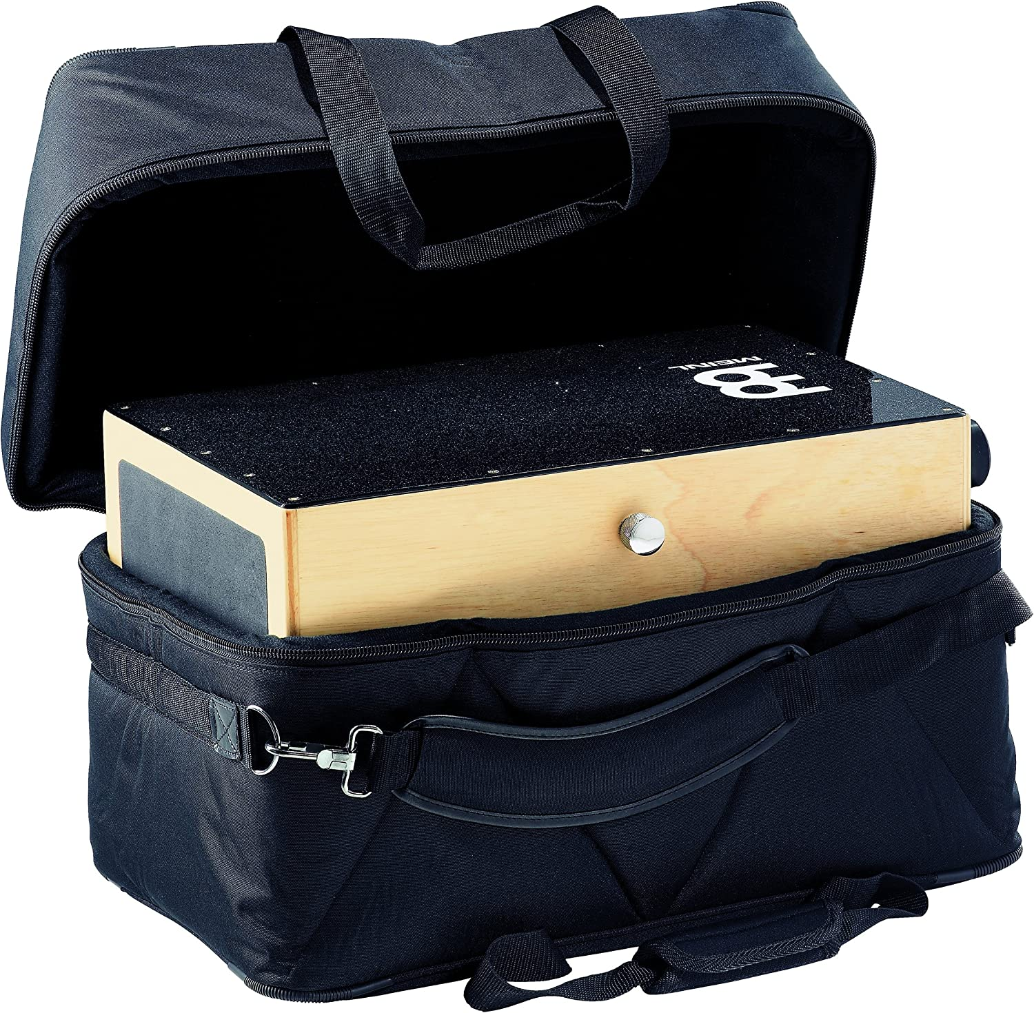 Meinl Percussion MCJB Professional Cajon Bag with Internal Padding, Side Pocket, and Adjustable Shoulder Straps