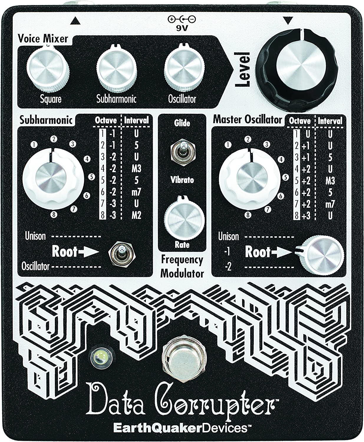 Earthquaker Devices Data Corrupter Modulated Monophonic Harmonizing Phase Locked Loop Guitar Effects Pedal
