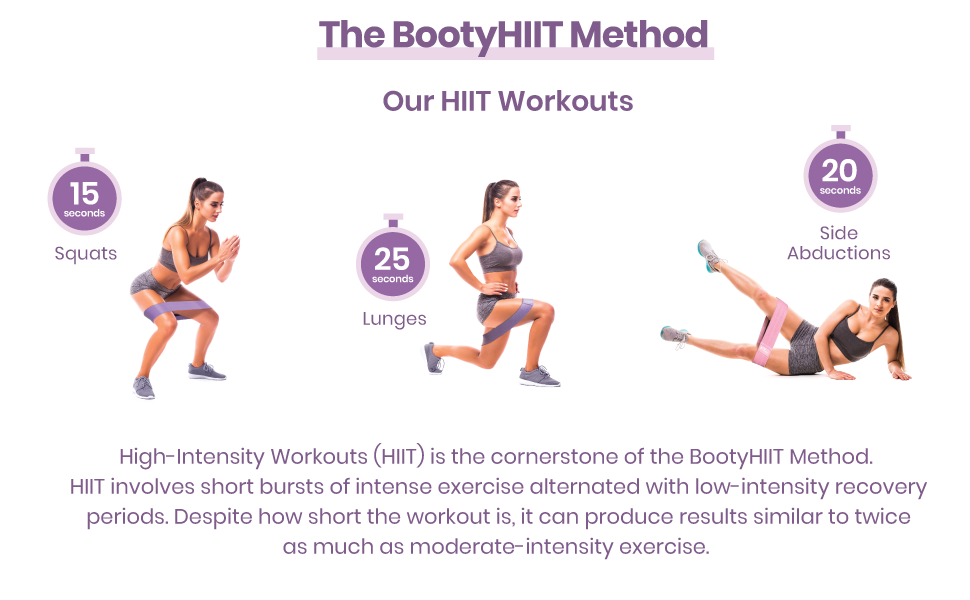 Hip Resistance Bands Booty Workout