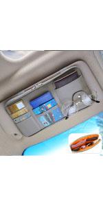 car visor organizer